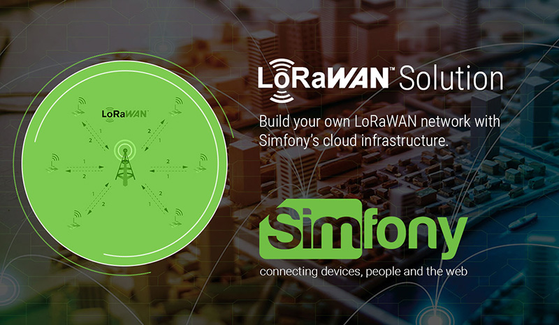 Simfony LoRaWAN Solution cover image