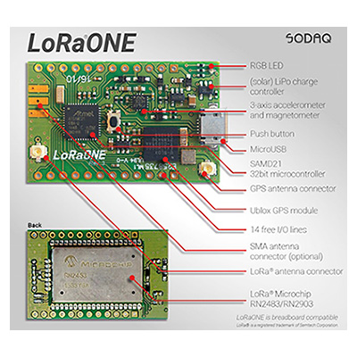 Sodaq LoRa One dev board