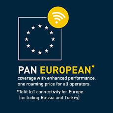 Telit PanEuropean service
