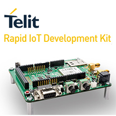 Telit Announces Rapid IoT Development Kit with Built-in Cellular Connectivity and Cloud-based IoT Portal Integration