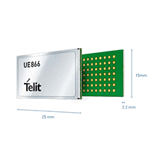 Telit Unveils Two New 3G-Only Modules including World's Smallest