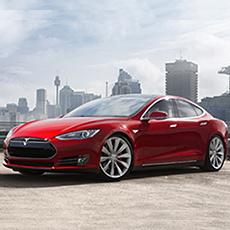 Tesla Model S car to be connected by the Telstra Mobile Network
