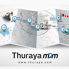 Thuraya Launches M2M Service and First Terminal to Operate in North America