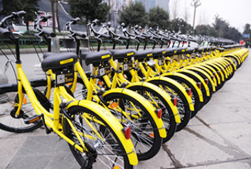 The bikesharing fleet reached 24.4 million vehicles worldwide in 2017