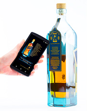 bottle authentication by NFC