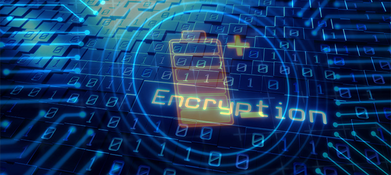 encryption and battery