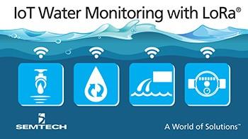 IoT water monitoring solution using LoRa