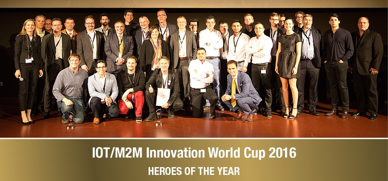 IOT-M2M Innovation World Cup 2016: Picture of Winners