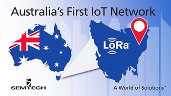 LoRa IoT network in Australia