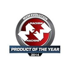 M2M Evolution Product of Year Award logo