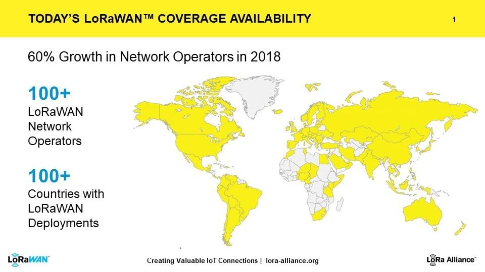 LoRaWAN coverage