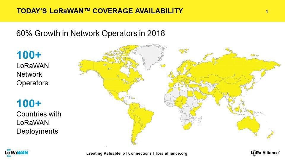 LoRaWAN coverage