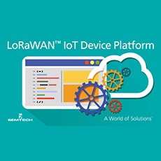 Semtech and ARM Introduce mbed IoT Device Platform for LoRaWAN™ Specification
