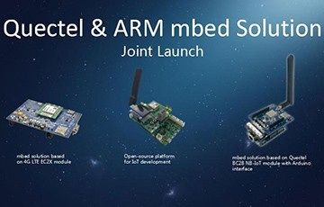 Quectel, ARM Jointly Launch Three mbed Solutions