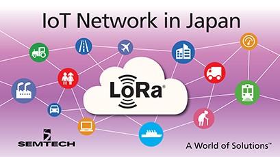 Semtech LoRa in Japan