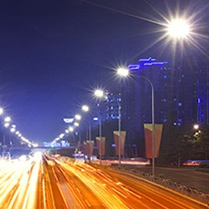 smart city lights