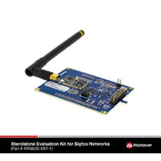 Microchip Launches Its First Sigfox FCC-certified Long-Range RF Transceiver and Connectivity Development Kits for IoT Applications