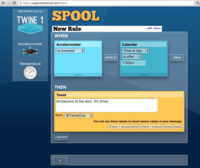 Twine : Listen to your world, talk to the Internet