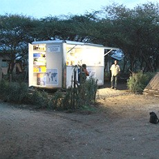 M2M solar kiosk