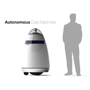 Autonomous data machine developed by Knightscope