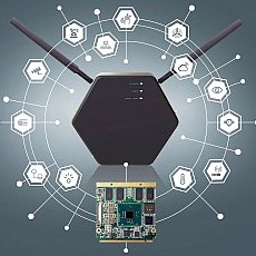 congatec introduces highly flexible IoT gateway system