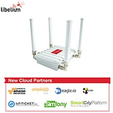 Libelium IoT Ecosystem Grows with Amazon and Six New Cloud Partners