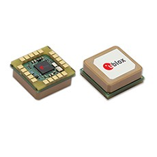 u-blox integrated antenna GNSS Receiver eases embedded designs
