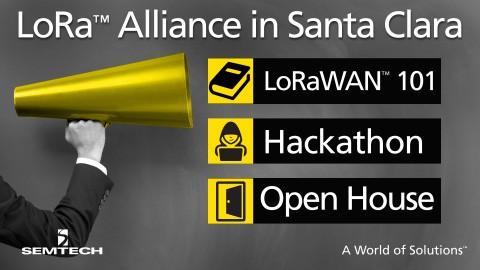 LoRa-Alliance Santa Clara meeting, April 2016