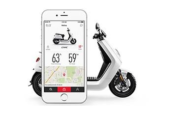 NIU smart electric scooter