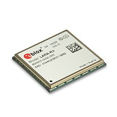 u-blox becomes first single supplier of a LTE Cat 1 module for the IoT featuring proprietary LTE modem technology