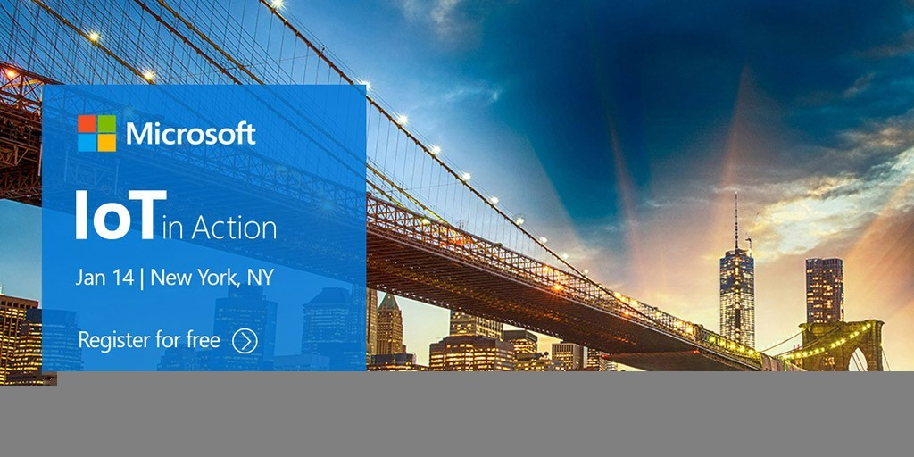 IoT in Action New York, January 14, 2019