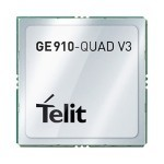 New module from Telit : GE910 Quad