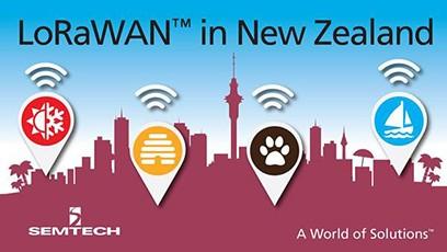 Semtech LoRaWAN in New Zealand