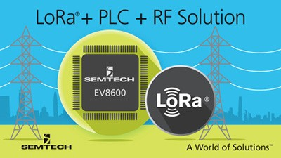 Single Chip Hybrid PLC and LoRa® Wireless Platform for Smart Grid, Smart Metering and IoT Applications