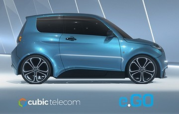 Cubic connects e.GO electric cars across Europe
