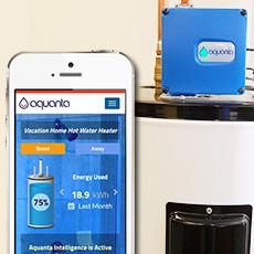 Aquanta smart water heater