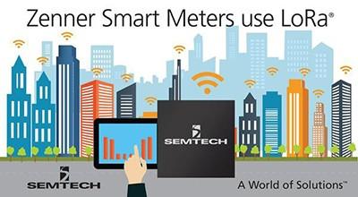 Zenner smart meters use LoRa