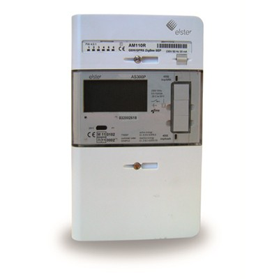 Elster AS300P Smart Meter with AM110-R embedded communication module
