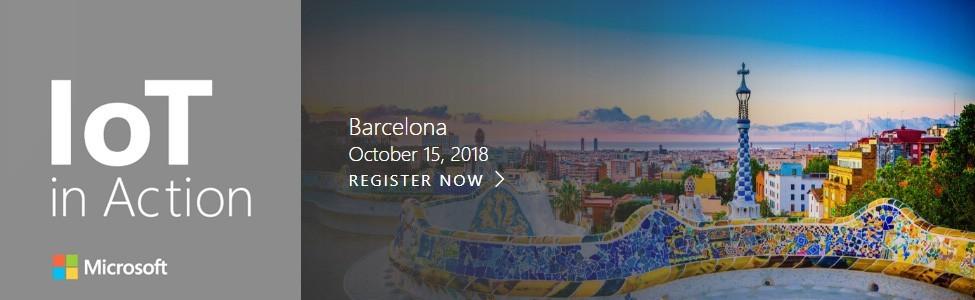 IoT in Action Barcelona 2018