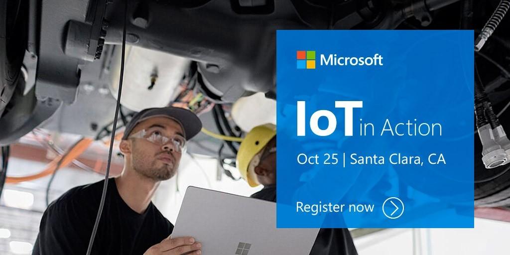 IoT in Action Santa Clara 2018
