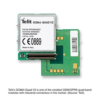 Telit GC864 Quad M2M module