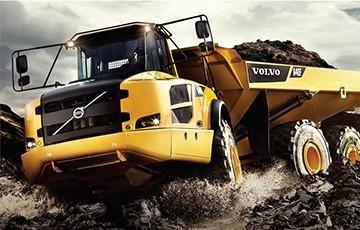 Volvo CE truck