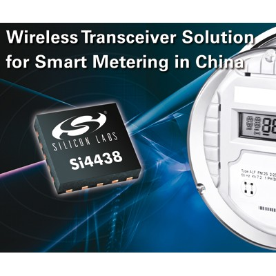 Silicon Labs Supplies Wireless Technology for Robulink's Advanced Metering Infrastructure Solutions