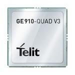 New module from Telit : GE910 Quad