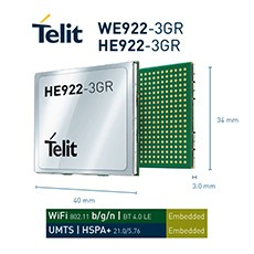 Telit Introduces World's First Hybrid IoT Modules Combining 3G Cellular, Wi-Fi, Bluetooth and GNSS into a Single Package