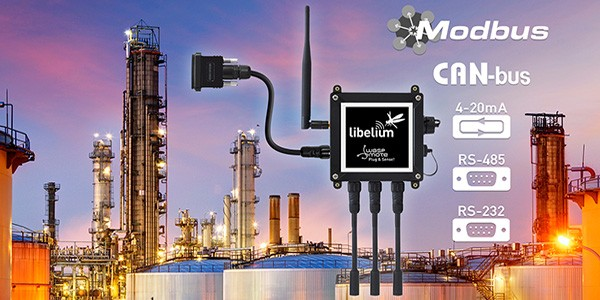 Libelium IoT gateway supporting industrial protocols