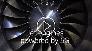 Video: jet engines manufacturing powered by 5g