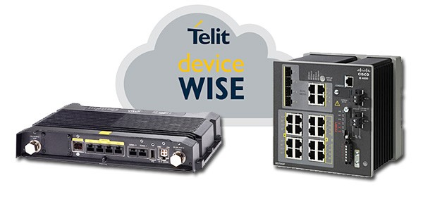 Cisco IoT gateways equipped with Telit deviceWISE