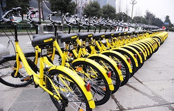 The bikesharing fleet reached 24.4 million vehicles worldwide in 2017