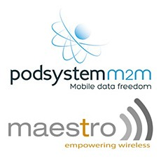 PodsystemM2M and Maestro Announce Partnership to Provide End-to-End Solutions for Mission Critical IoT Applications